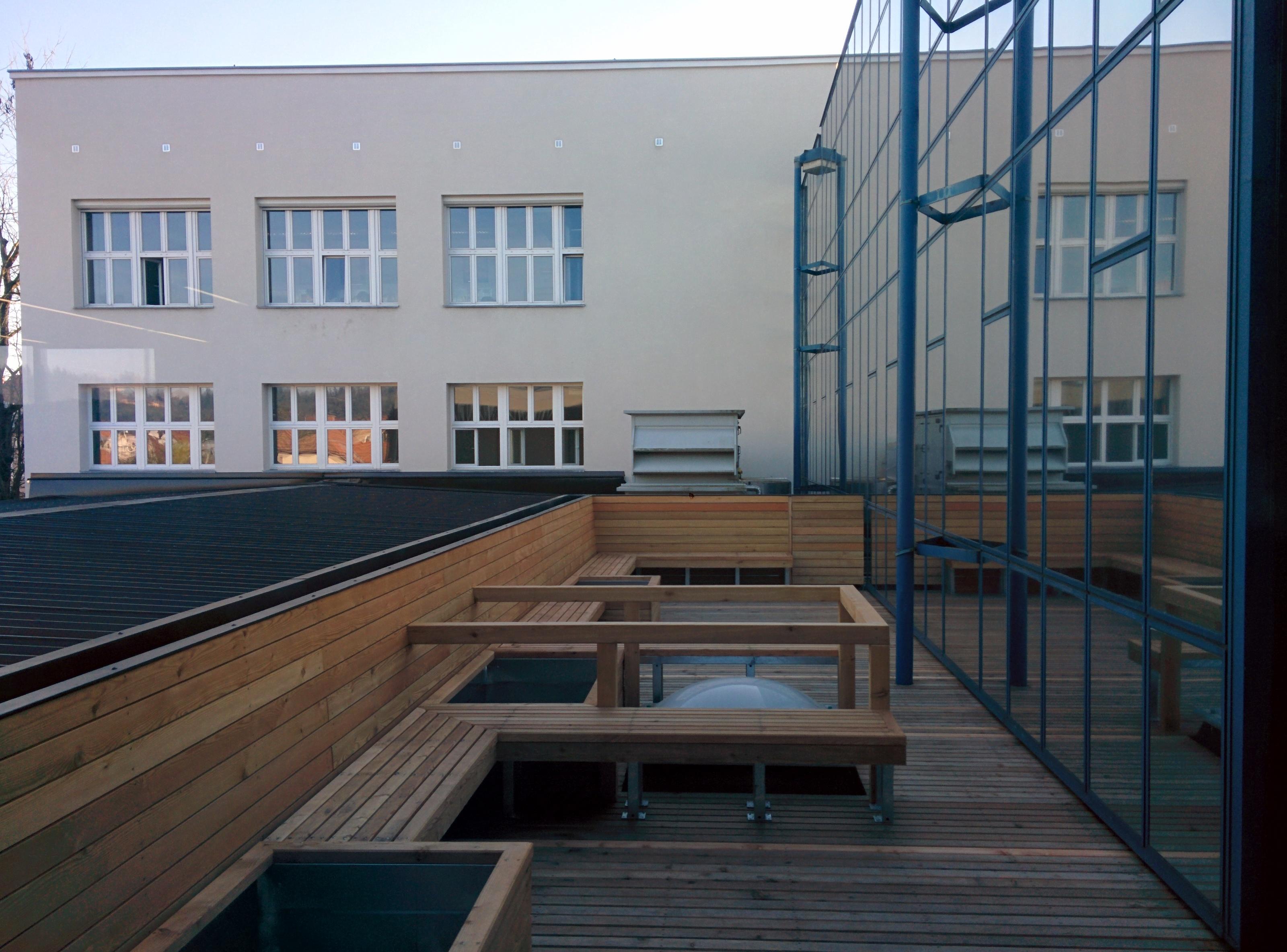 Terrace on high school vic ljubljana archdesign for School terrace